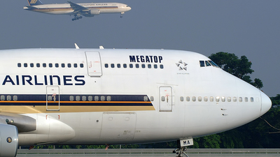 9V-SMA - Boeing 747-412 - Singapore Airlines