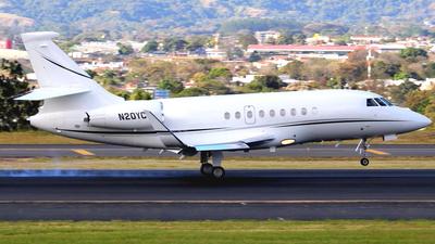 N20YC - Dassault Falcon 2000LX - Private