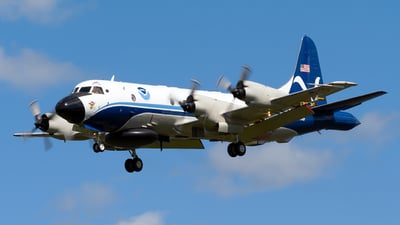 N43RF - Lockheed WP-3D Orion - United States - Department of Commerce
