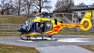 A picture of SPHXR - Airbus Helicopters H135 P3 - Polish Medical Air Rescue - © Marcin Glodzik