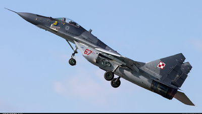 67 - Mikoyan-Gurevich MiG-29A Fulcrum A - Poland - Air Force