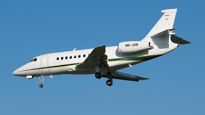 HB-JSB - Dassault Falcon 2000 - Private