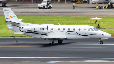 A picture of VTJSS - Cessna 560XLS Citation Excel - [5605594] - © Janam Parikh