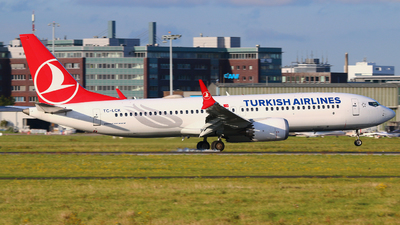 A picture of TCLCK - Boeing 737 MAX 8 - Turkish Airlines - © Andreas Fietz