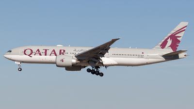 A picture of A7BBH - Boeing 7772DZ(LR) - Qatar Airways - © Rodrigo Train