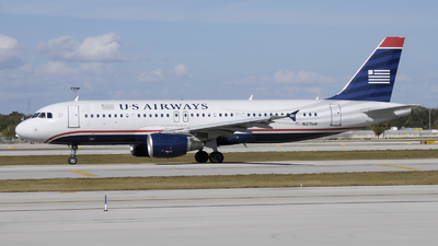 N127UW - Airbus A320-214 - US Airways
