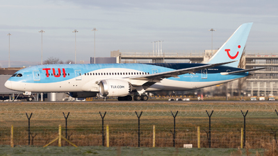 A picture of GTUIF - Boeing 7878 Dreamliner - TUI fly - © Colin Hines