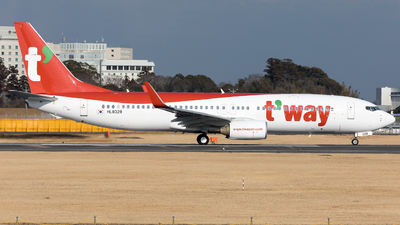HL8329 - Boeing 737-8KN - T'Way Air