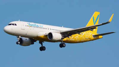 JA09VA - Airbus A320-214 - Vanilla Air