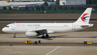 B-6587 - Airbus A320-232 - China Eastern Airlines