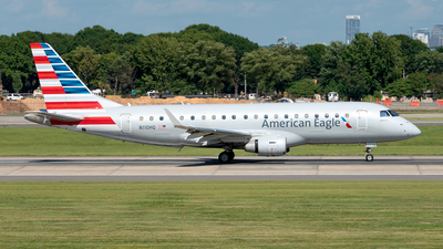 A picture of N110HQ - Embraer E175LR - American Airlines - © Yan777