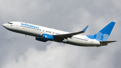 A picture of VQBHW - Boeing 7378LJ - Pobeda - © SN7756
