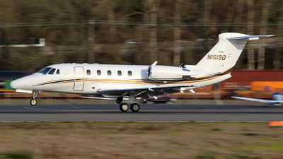 N161SD - Cessna 650 Citation VII - Private