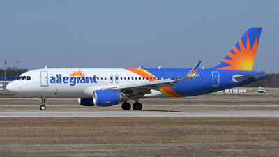 A picture of N256NV - Airbus A320214 - Allegiant Air - © DJ Reed - OPShots Photo Team