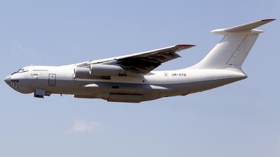 UR-CTO - Ilyushin IL-76TD - Zet Avia