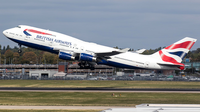 G-CIVX - Boeing 747-436 - British Airways