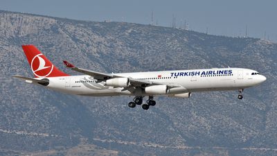 TC-JIH - Airbus A340-313X - Turkish Airlines