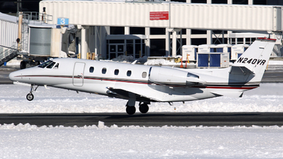 N240VR - Cessna 560XL Citation Excel - Private