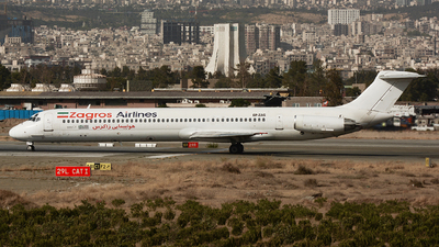 EP-ZAG - McDonnell Douglas MD-82 - Zagros Airlines