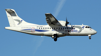 OY-CHT - ATR 42-300 - Melilla Airlines (Aeronova)