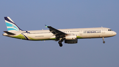 A picture of HL7729 - Airbus A321231 - Air Busan - © REDSOX