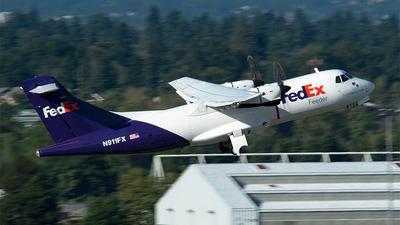 A picture of N911FX - ATR 42300(F) - FedEx - © Nick Michaud