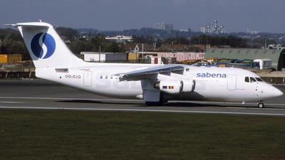 OO-DJQ - British Aerospace Avro RJ85 - Sabena