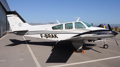 A picture of FBRAK - Beech 95B55 Baron - [TC1170] - © Xevi