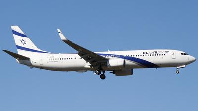 A picture of 4XEHE - Boeing 737958(ER) - El Al - © Daniel V.