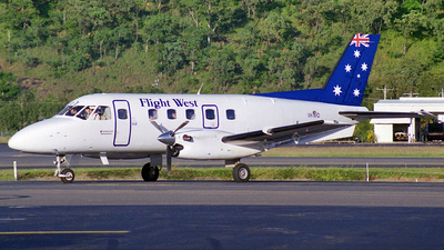 VH-XFO - Embraer EMB-110P1 Bandeirante - Flight West Airlines