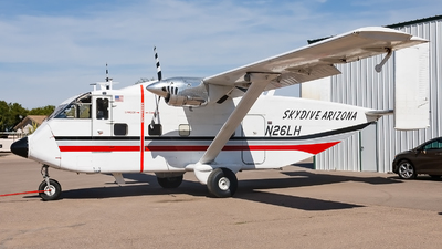 N26LH - Short SC-7 Skyvan 3-100 - Skydive Arizona