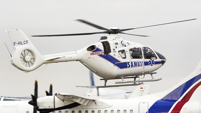 F-HLCF - Eurocopter EC 135T3 - SAF Hélicoptères - Service Aérien Français