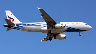 A picture of HSPPO - Airbus A320233 - Bangkok Airways - © Huang Chengjen
