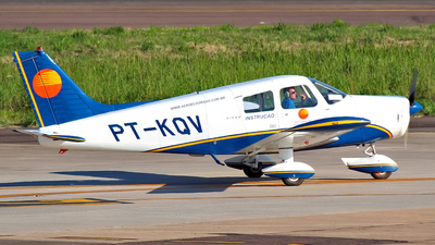 PT-KQV - Piper PA-28-140 Cherokee Cruiser - Aero Club - Eldorado do Sul