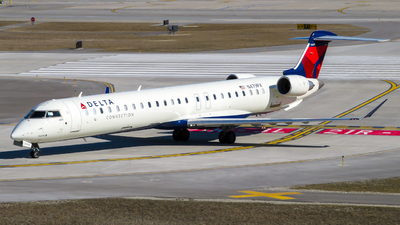 A picture of N479PX - Mitsubishi CRJ900LR - Delta Air Lines - © Nick Kort