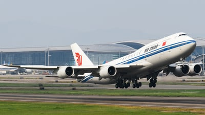 B-2485 - Boeing 747-89L - Air China