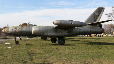 72 - Ilyushin IL-28 Beagle - Poland - Air Force