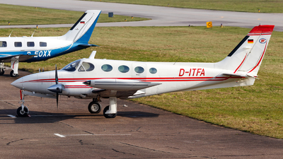 A picture of DITFA - Cessna 340A - [340A0546] - © Oliver Richter