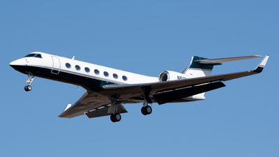 N612MJ - Gulfstream G550 - Private