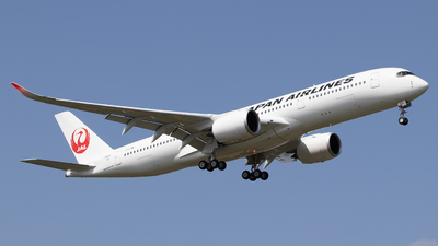 F-WZGX - Airbus A350-941 - Japan Airlines (JAL)
