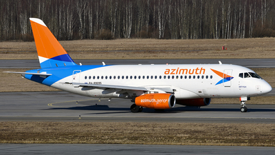 RA-89095 - Sukhoi Superjet 100-95LR - Azimuth Airlines
