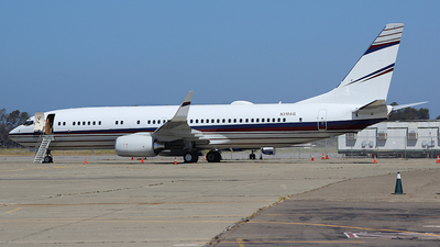 N310AG - Boeing 737-8AW(BBJ2) - Private