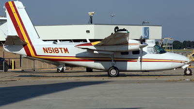 A picture of N518TM - Aero Commander 500B - Central Airlines - © PeachAir