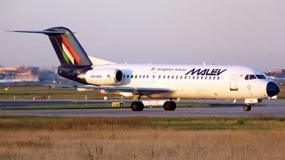 HA-LMA - Fokker 70 - Malév Hungarian Airlines