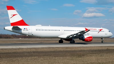 OE-LBA - Airbus A321-111 - Austrian Airlines