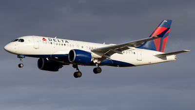 A picture of N126DU - Airbus A220100 - Delta Air Lines - © John Marzo
