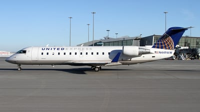 A picture of N449AW - Mitsubishi CRJ200LR - United Airlines - © Daniel Lapierre Forget