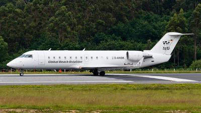 D-ANSK - Bombardier CRJ-100LR - Global Reach Aviation