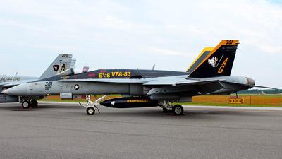 165202 - McDonnell Douglas F/A-18C Hornet - United States - US Navy (USN)