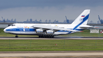 A picture of RA82081 - Antonov An124 - VolgaDnepr Airlines - © Fuxin Ma